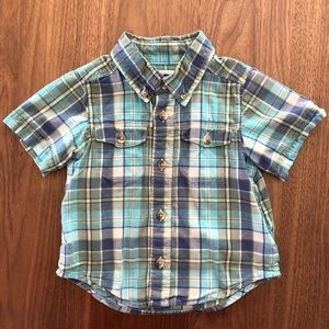 3/$15 12-18mos Old Navy short sleeve button down